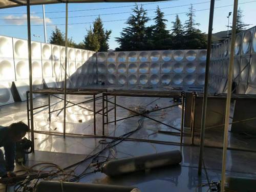 组合式不锈钢拼装水箱安装